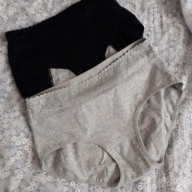 [ 5 PCS ] Leakproof Period High-Waist Panties photo review