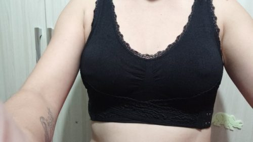 【PAY 1 GET 3】Seamless Lift Bra With Front Cross Side Buckle photo review
